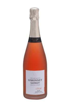 Champagne Gimonnet-Gonet L'Éclat Rosé Grand Cru Le Mesnil sur Oger